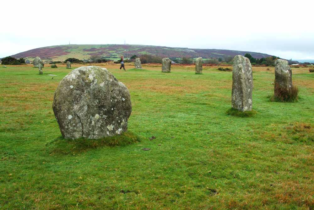 27698 The Hurlers Stone Circles, Cornwall