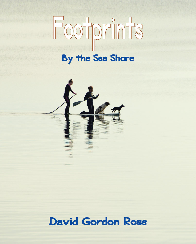 Footprints: By the Sea Shore FRONT COVER